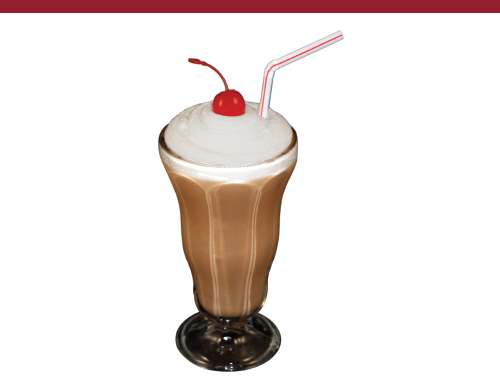 Fake Chocolate Shake Dessert