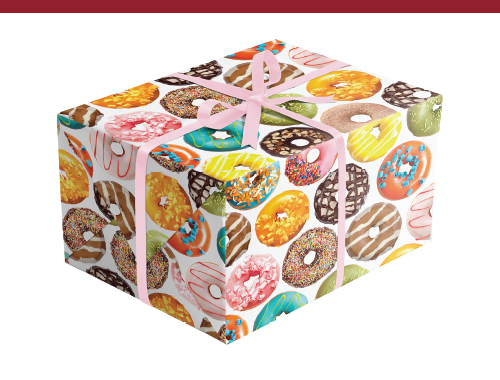 Donuts Gift Wrap