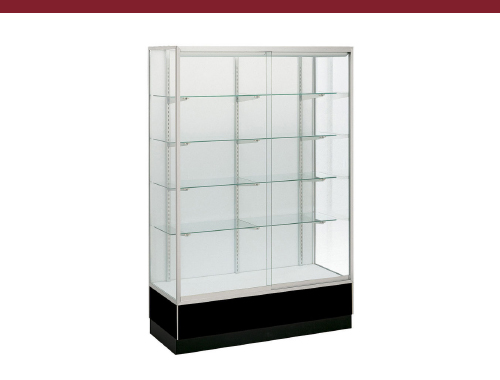 Retail Glass Display Case, Hardboard