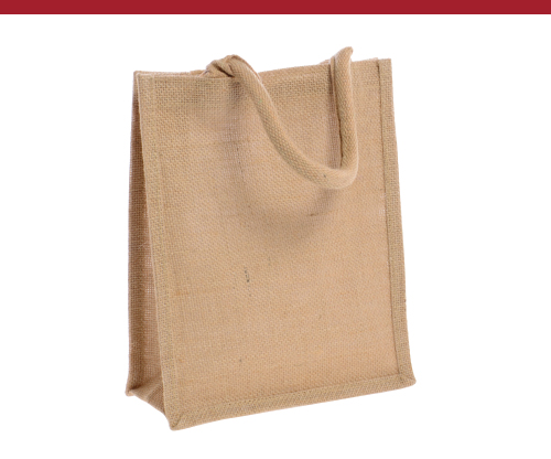 Small Natural Jute Tote Bags