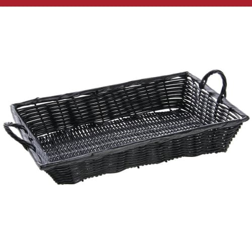 Synthetic Wicker Baskets with Handles