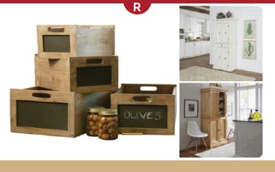 Tables, Crates, Pantries, and Baskets