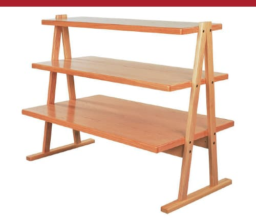 A-Frame Tiered Shelves