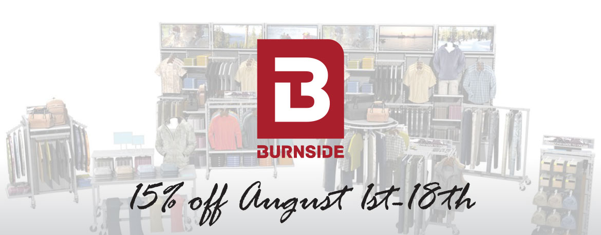 15% off Burnside Collection