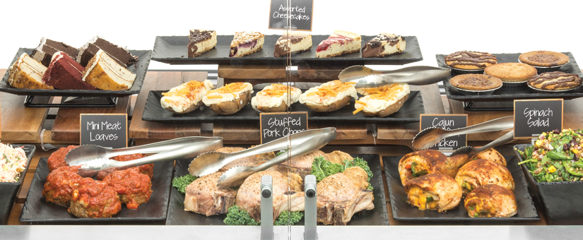 Slate Deli Display
