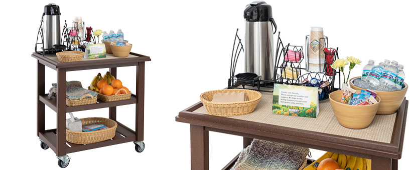 Brown Comfort Cart
