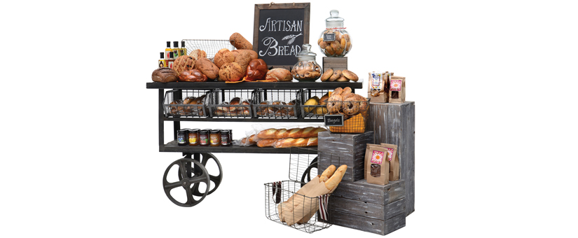 Artisan Bread Display