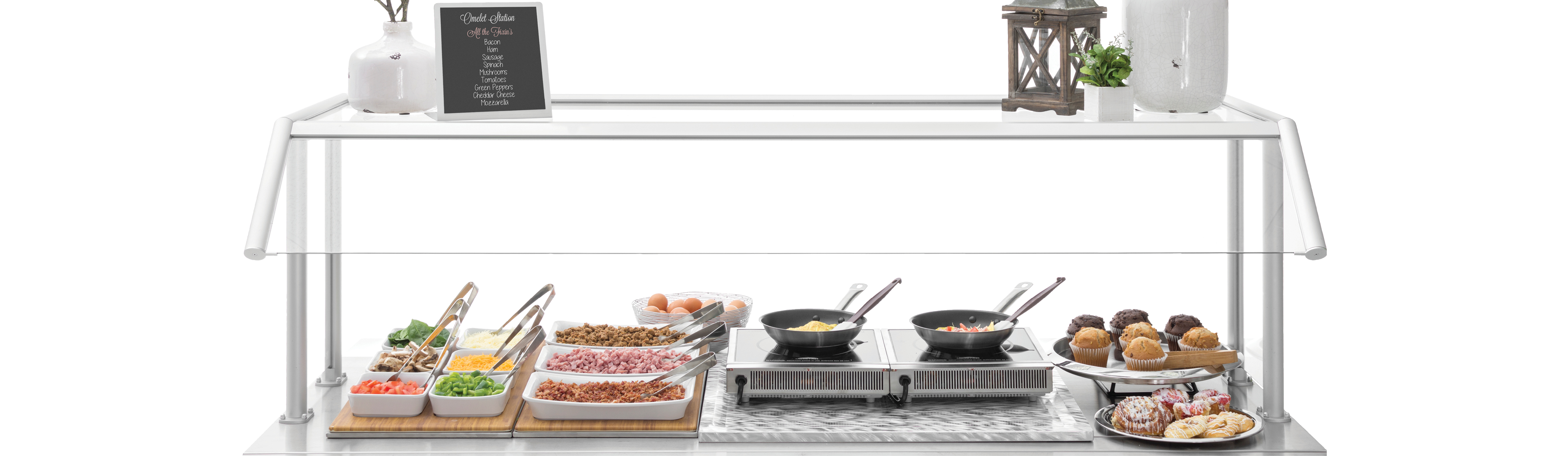 Stainless Hot Food Display
