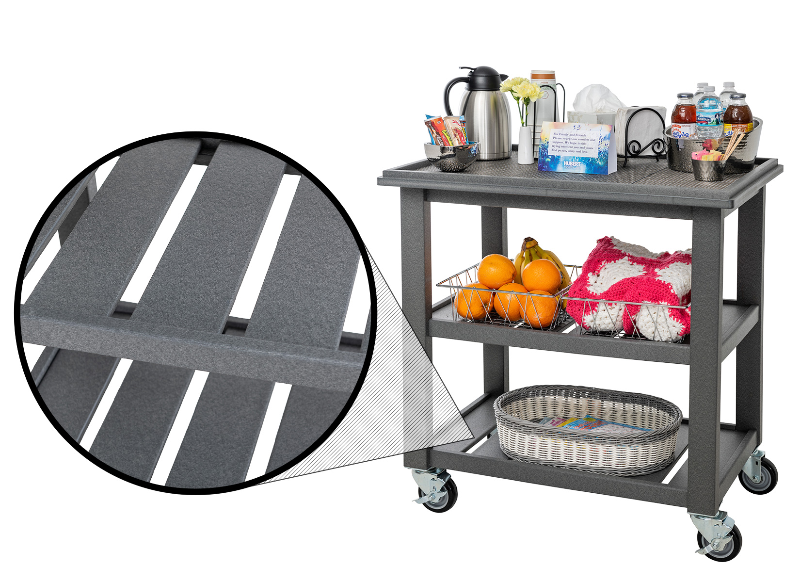 Dark Grey Comfort Cart