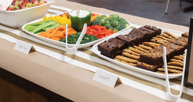 Disposable Catering Solutions for easy cleanup